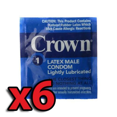 CrownLightlyLubercatedx6